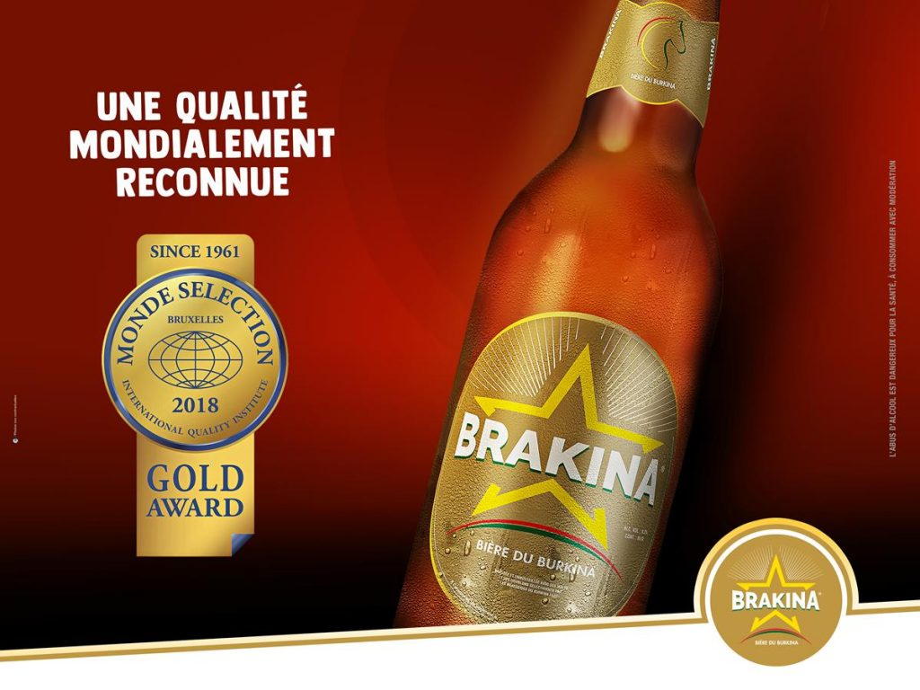 La Brakina médaillée d'or au 57ème Awards Monde Selection